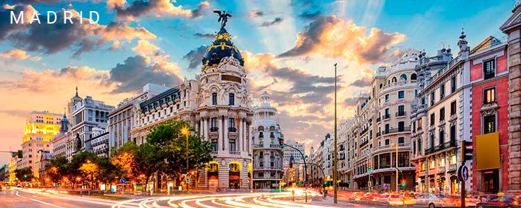 DÍA 1 (MARTES) AMÉRICA • MADRID