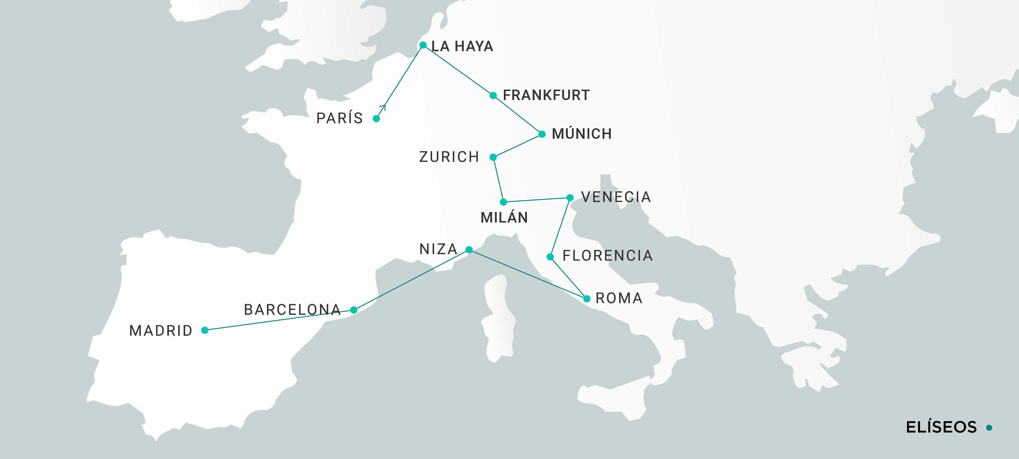 Mapa Elíseos