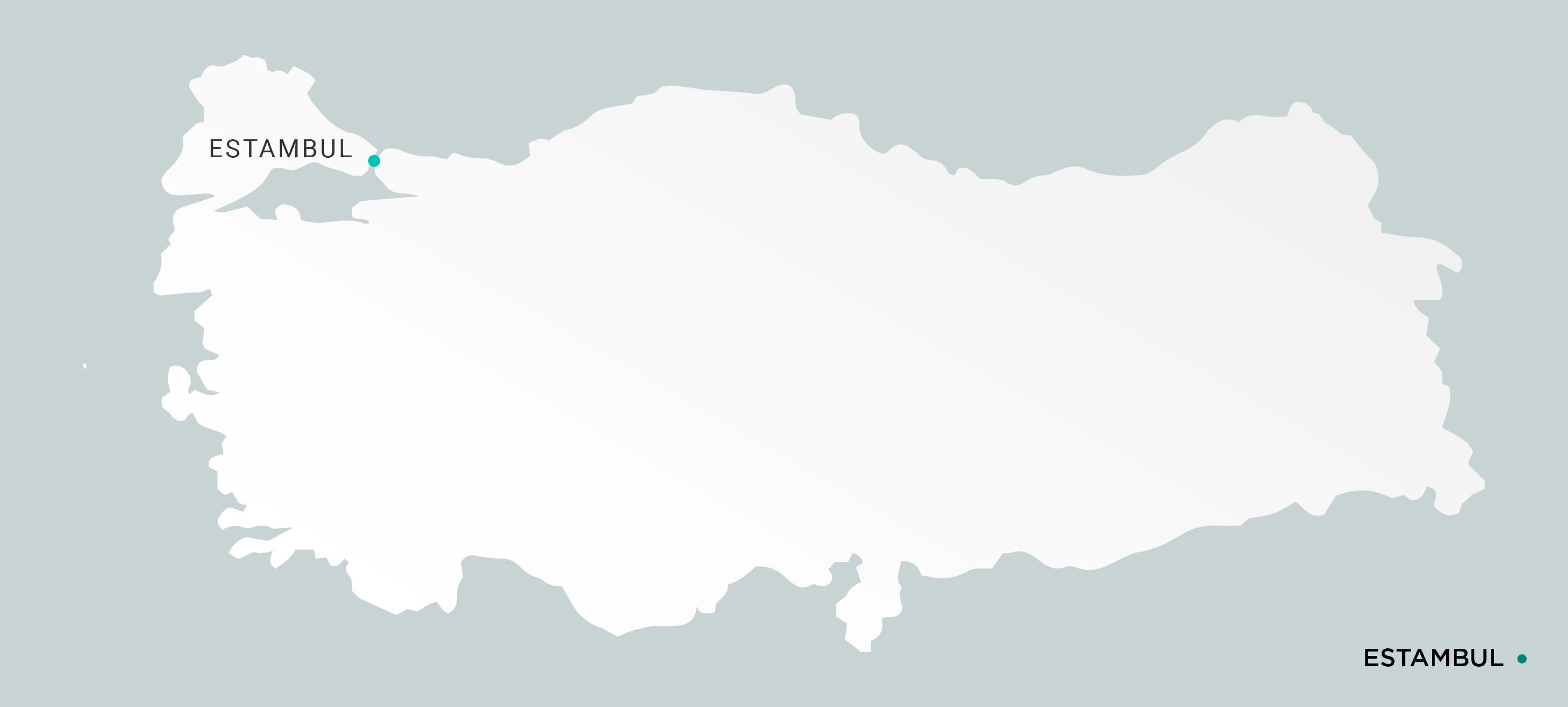 Mapa Estambul