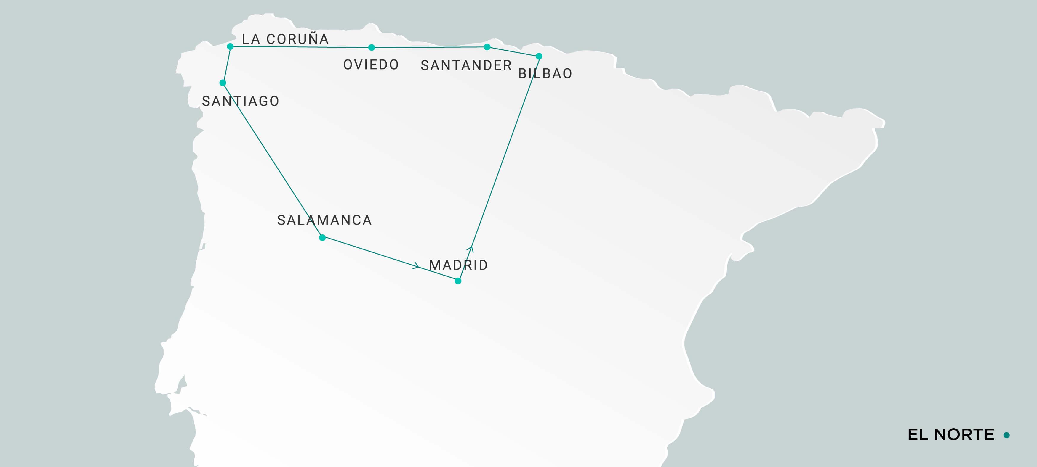 Mapa Norte