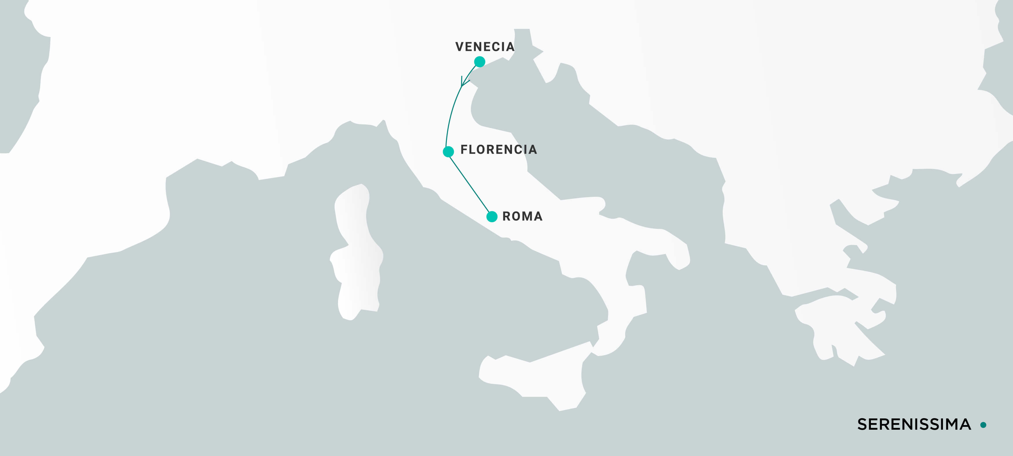 Mapa Serenissima