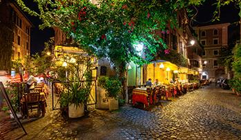 10 restaurantes top en Roma