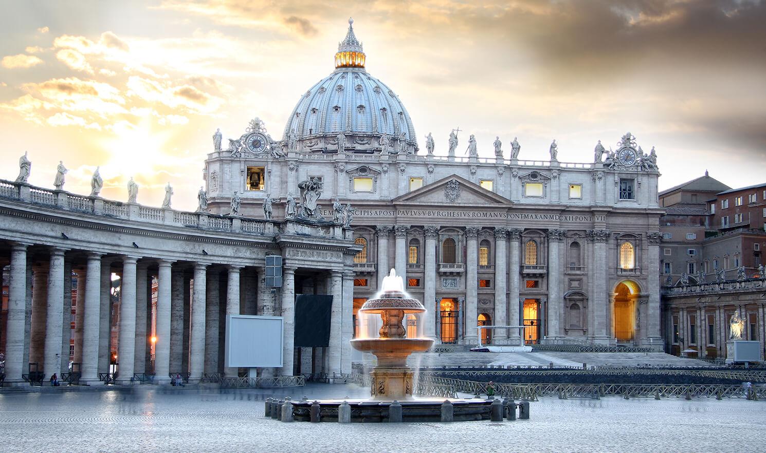 Plaza San Pedro - El Vaticano