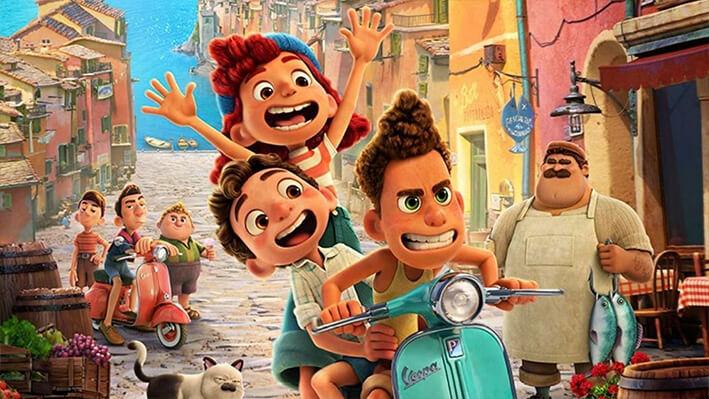 Luca - Películas para viajar a Italia