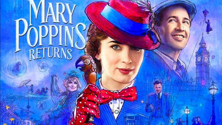 Mary Poppins - Películas para viajar a Londres