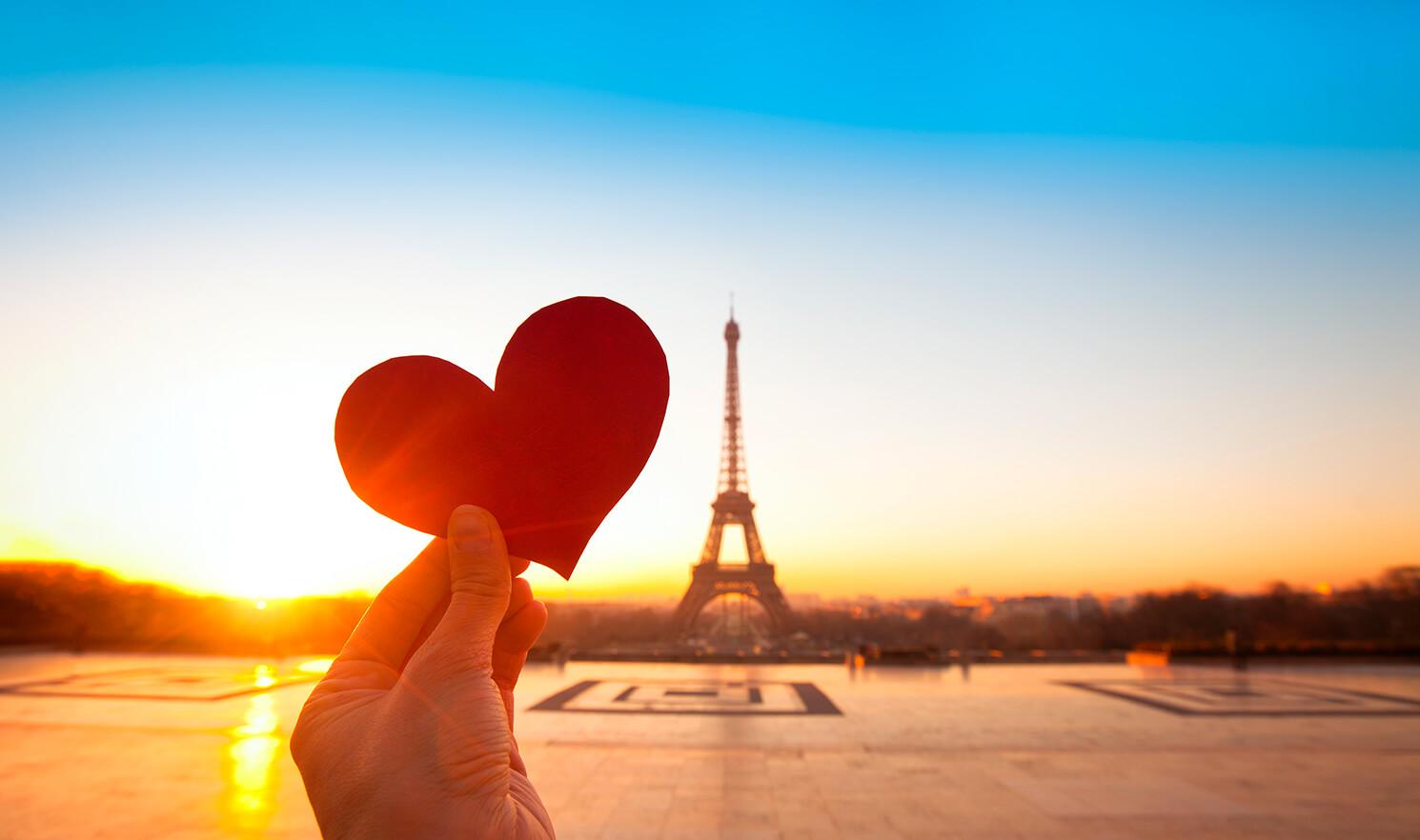 París - 10 ciudades más románticas de Europa