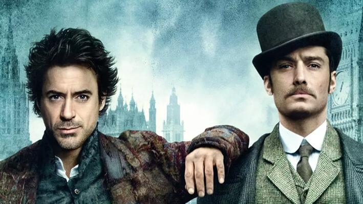 Sherlock Holmes - Películas para viajar a Londres