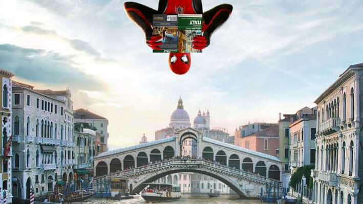 Spider-Man: Lejos de Casa - películas para viajar a Europa
