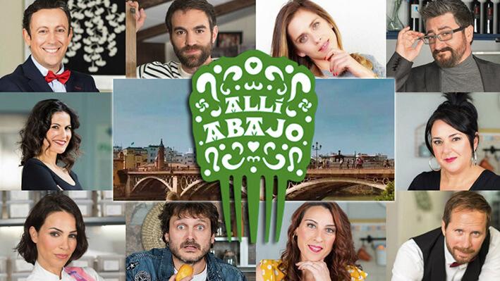 Allí Abajo - Series para viajar a España