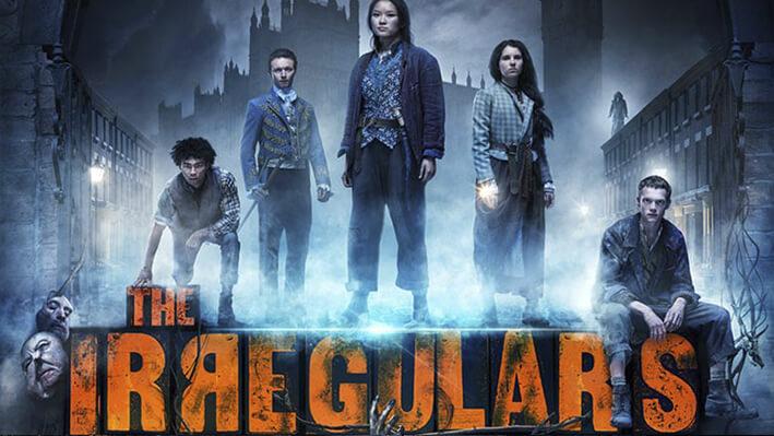 Los Irregulares - Series para viajar a Londres, Inglaterra