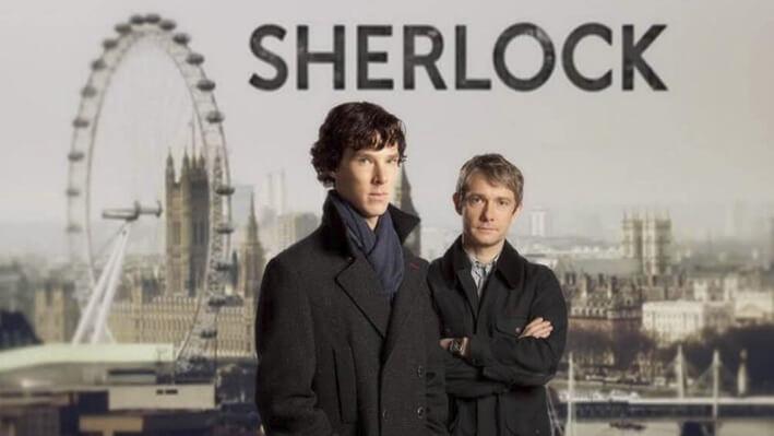 Sherlock - Series para viajar a Londres, Inglaterra
