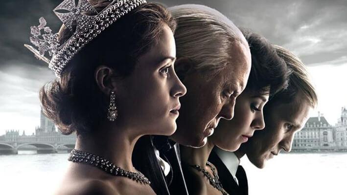 The Crown - Series para viajar a Reino Unido