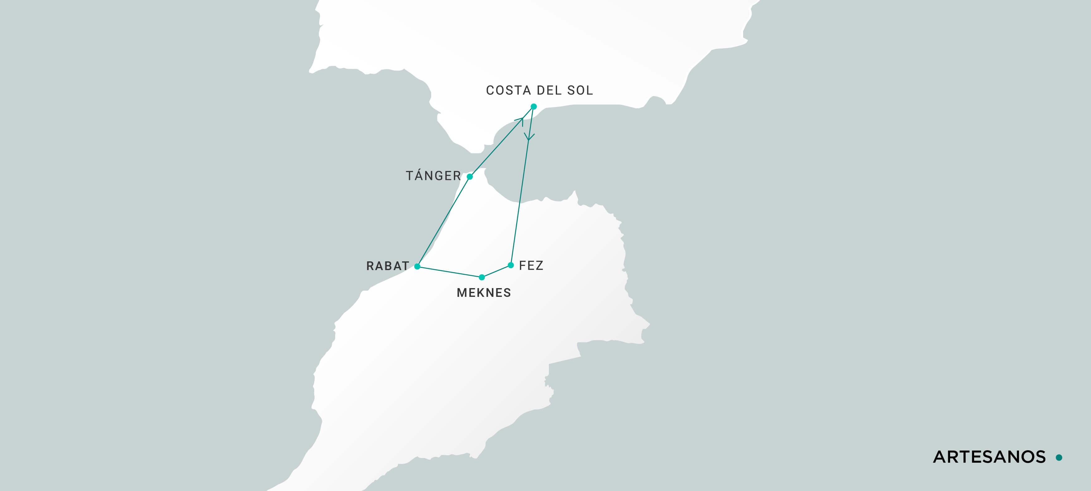 Mapa Artesanos
