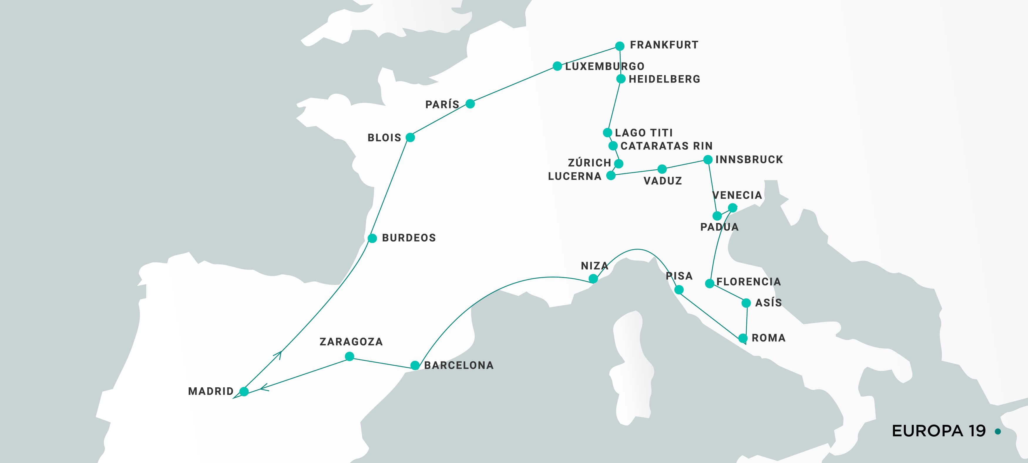 Mapa Europa19