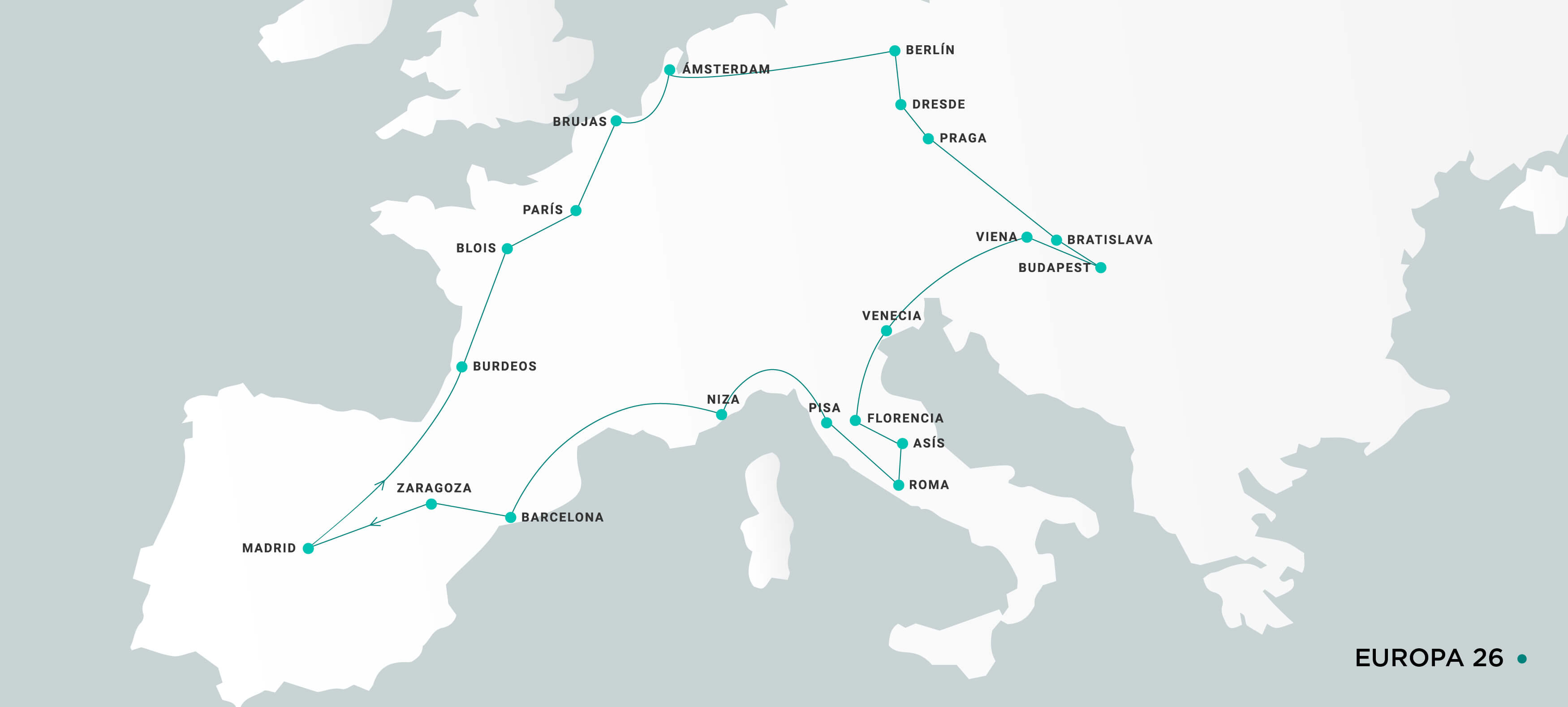 Mapa Europa26