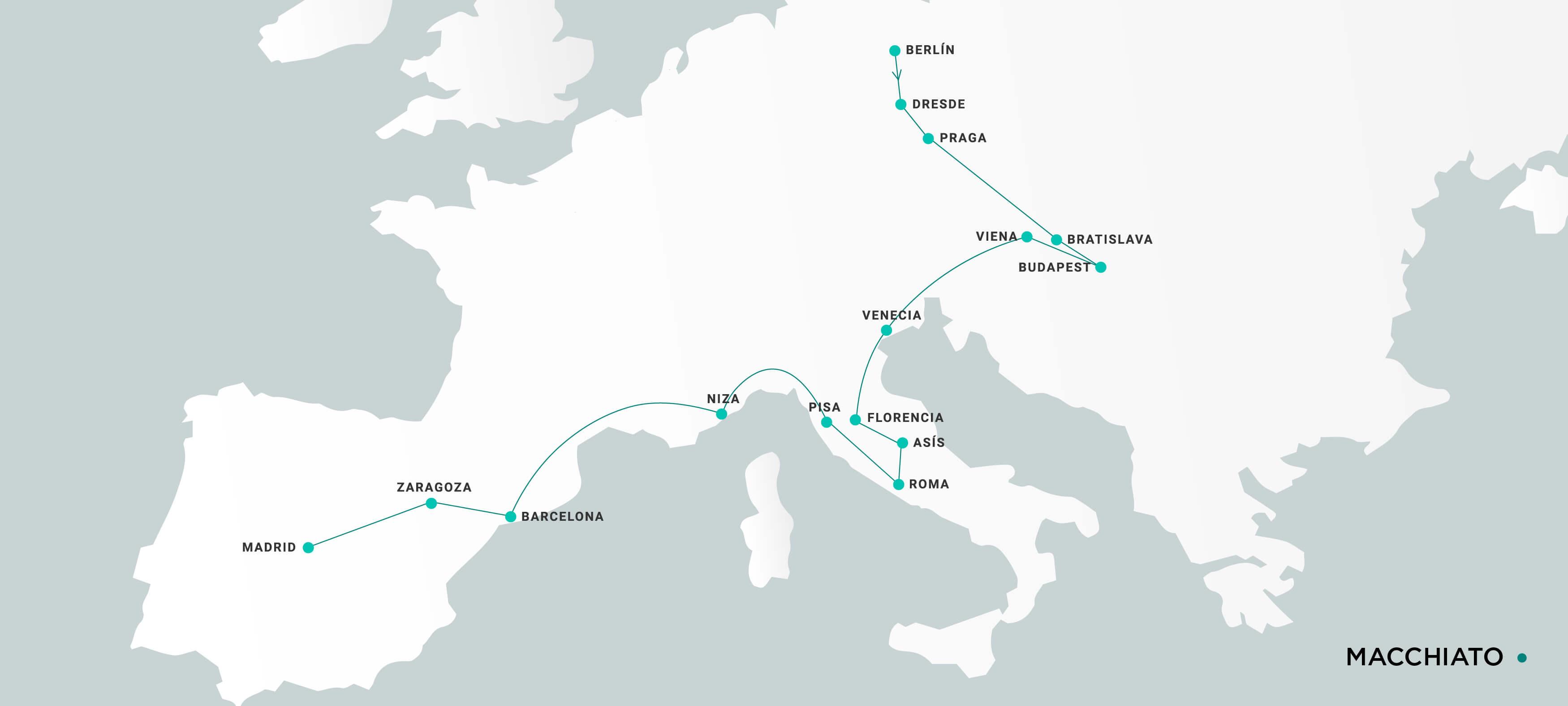 Mapa Macchiato
