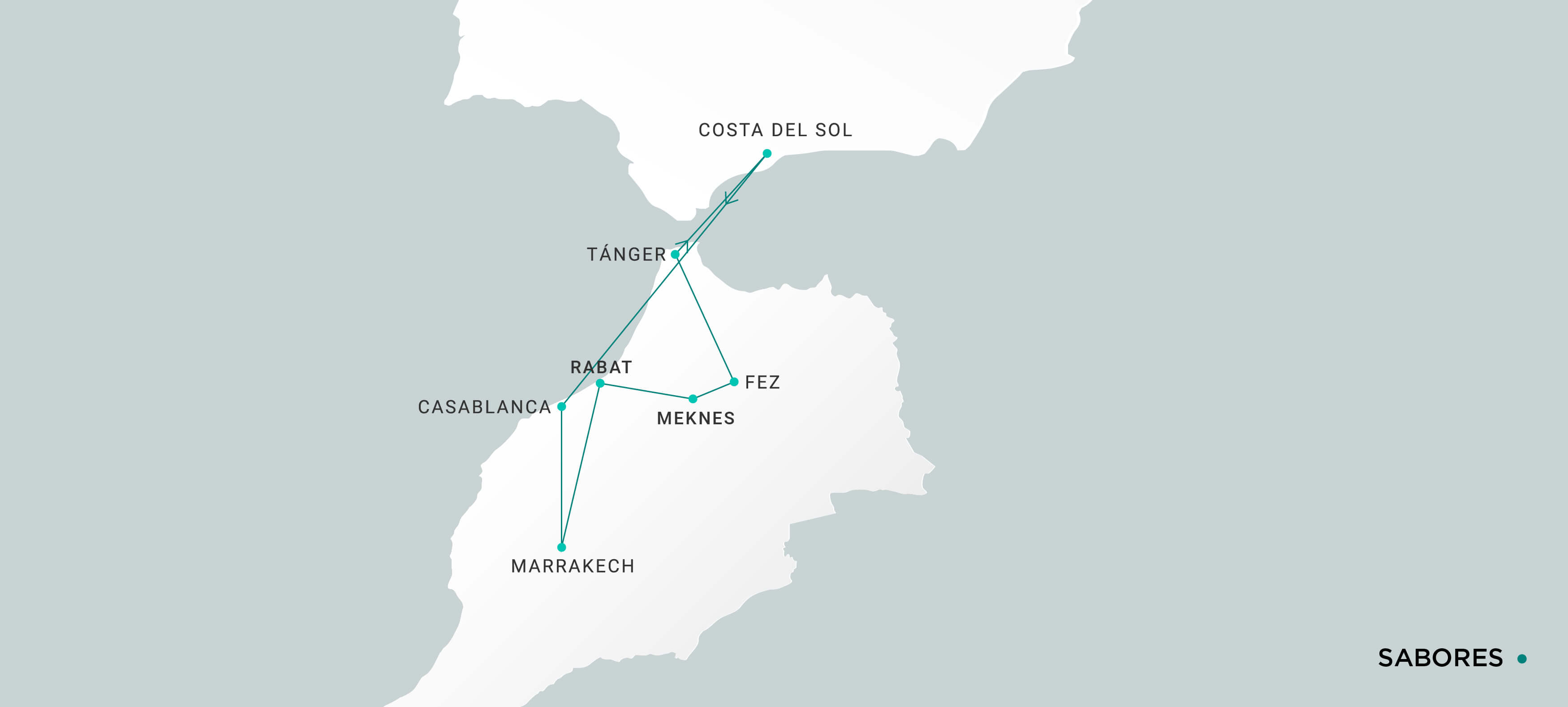 Mapa Sabores
